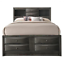 thumbnail 3 - NEW Gray Storage Queen King Bedroom Set Contemporary Modern Furniture Bed/D/M/N