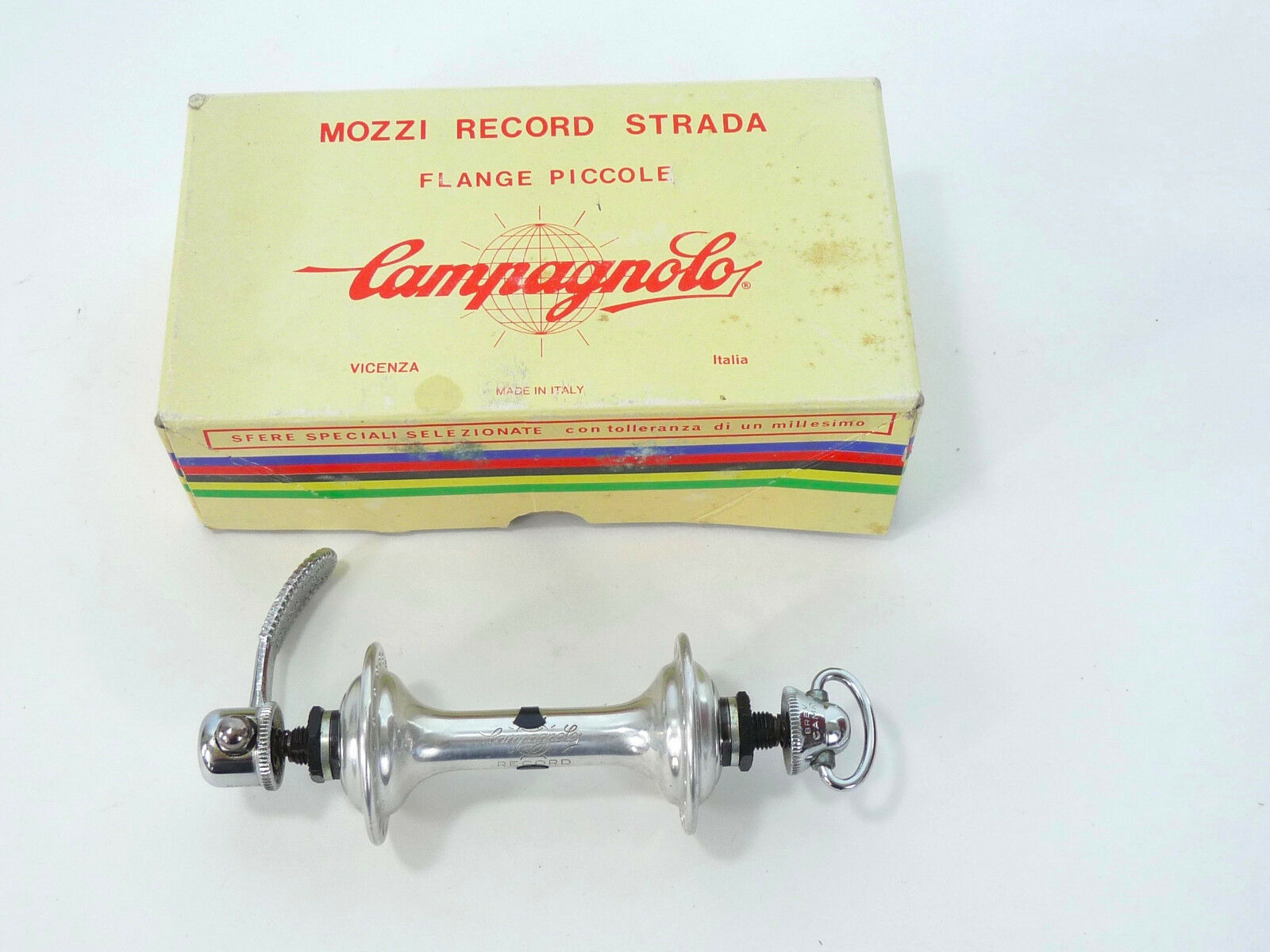 Campagnolo Record Front Hub 36H  W QR Vintage Bicycle Super Nuovo NIB NOS  there are more brands of high-quality goods