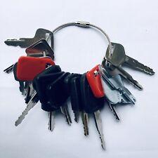 16 Keys Heavy Equipment Construction Ignition Key Set