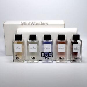 Détails Avec Boite Neuf Dolce 5 Sur Anthology Ml X 20 Collection Edt Gabbana Pwk8n0O