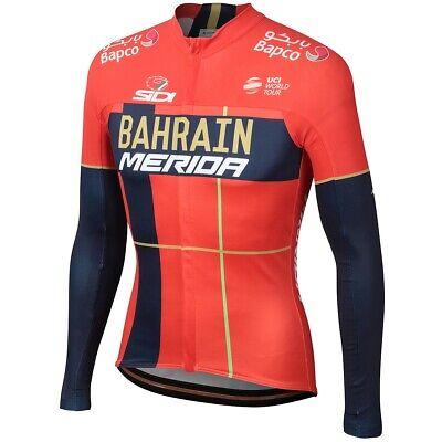 "Bahrain Merida 2019 Cycling Winter Thermal Set 9d Gel Pad /""NEW/"""