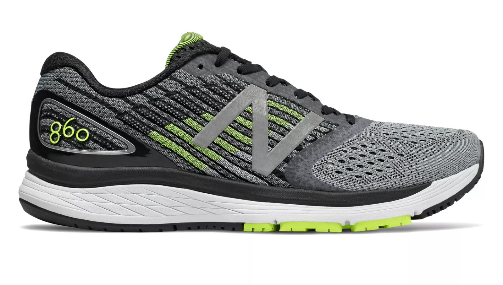 New Men's Balance M860GY9 Men's New 860v9 Steel/Hi-Lite/Black Stability Running Shoes 19ebe0