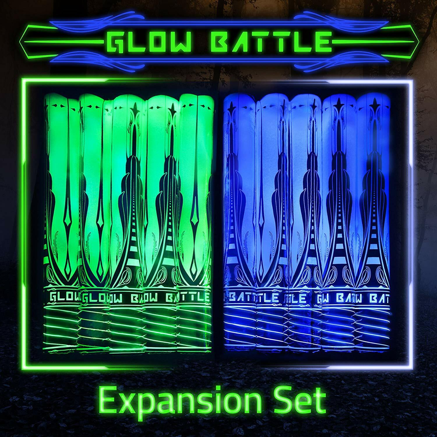 Glow Battle Double Weapon Expansion Set Sword Fighting Game REFURBISHED