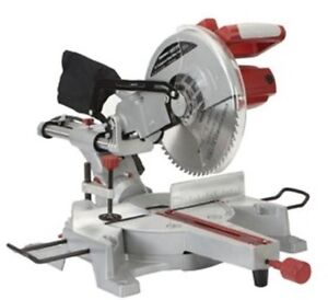 Chicago electric 12 sliding compound miter saw nib ebay image is loading chicago electric 12 034 sliding compound miter saw greentooth Choice Image