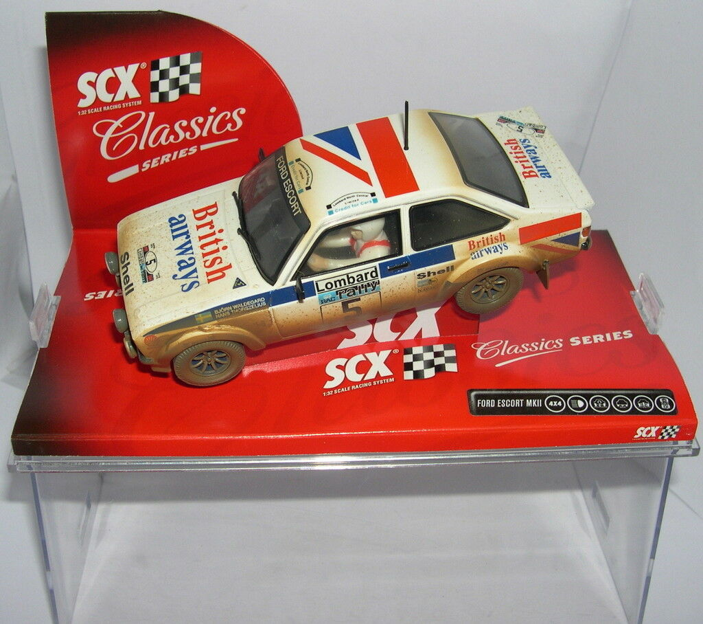 Scalextric Scx 63900 Ford Ecort British Airways Mkii   Dirt Effect   Lted.ed MB