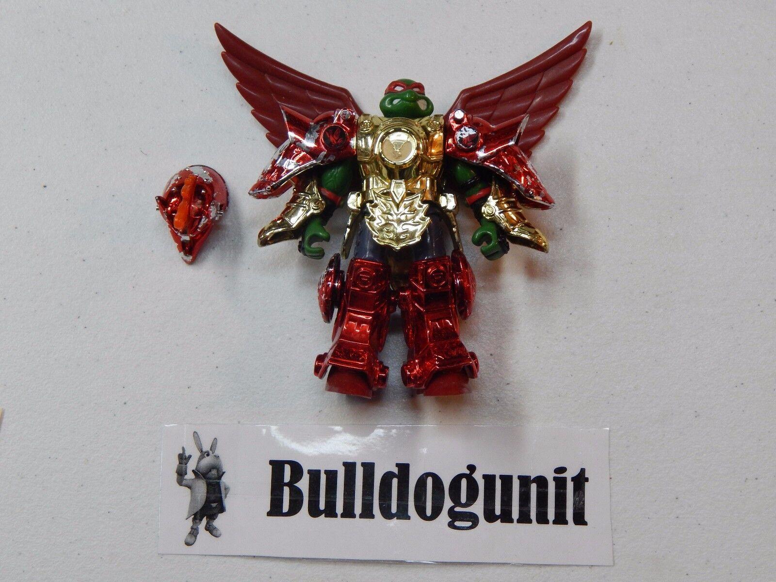 Metal Mutant Raphael w/ Phoenix Armor Teenage Mutant Ninja Turtles 1995 Figure