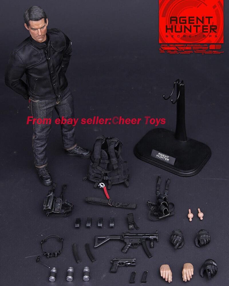 1 6 Virtual Juguetes Vm012 agente Hunter secreto OPS misión imposible Ethan Hunt