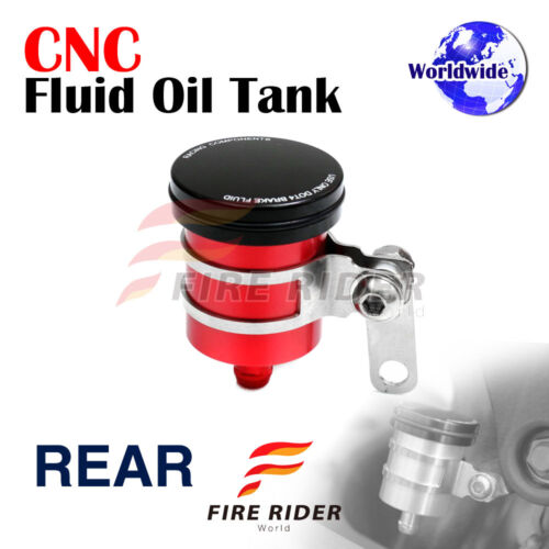 FRW 6C CNC Fluid Reservoir Rear Brake For Kawasaki Z750S 04-05 04 05