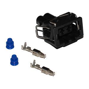 stecker 2 polig reparatursatz f r vw 357972752 skoda seat weiblich crimp kontakt ebay. Black Bedroom Furniture Sets. Home Design Ideas