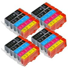 20 PATRONEN TINTE für PGI 520BK CLI 521BK 521C 521 M 521Y XL 4 Sätze CANON