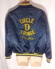 "VINTAGE Men's Circle D Lounge Plainfield, IN Jacket RARE Coat ""Gene"" USA Made-L"