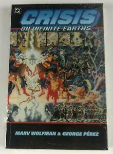Crisis On Infinite Earths Graphic Novel DC Comics TPB Marv Wolfman George Perez