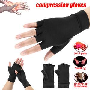 Paire-compression-doigt-soulagement-douleur-soutien-main-gants-anti-arthrite-G