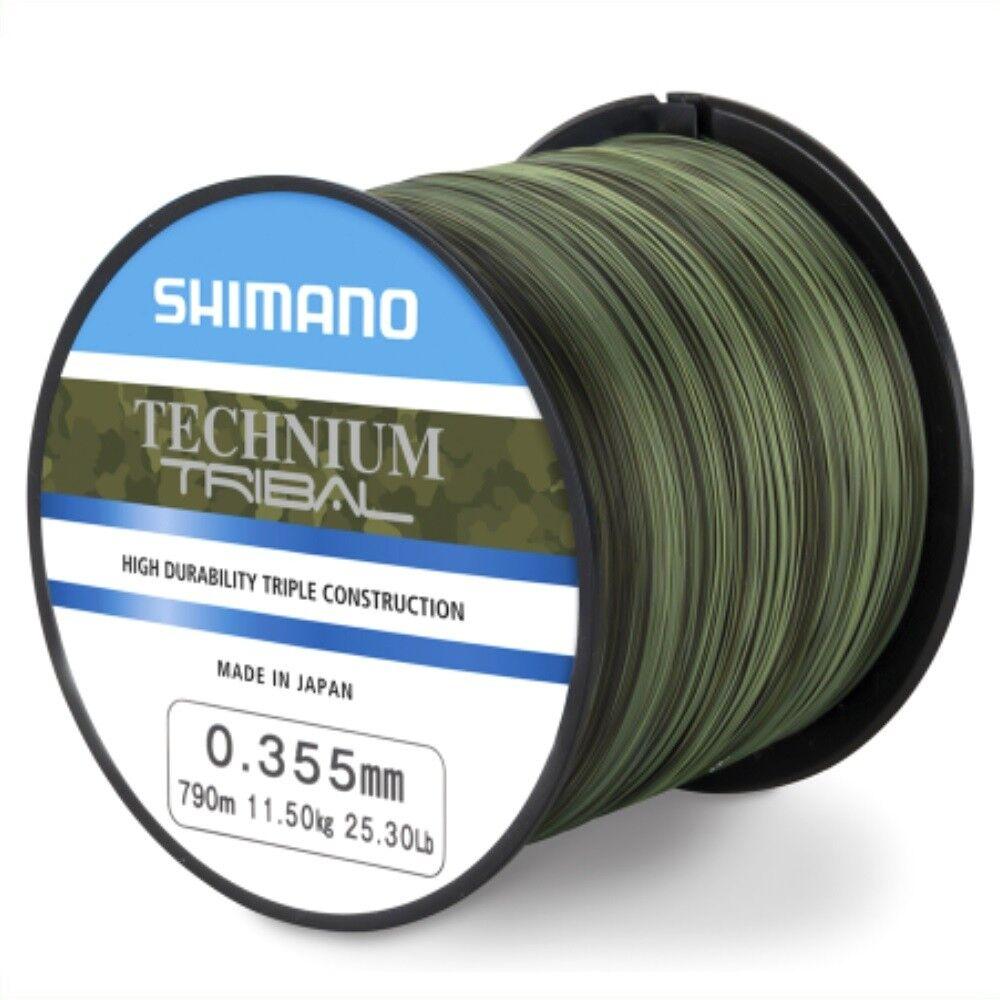 Shimano TECHNIUM TRIBAL 0,30mm - - 5000m Großspule - - Angelschnur - Karpfenschnur 1e0437