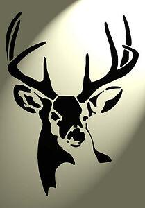 Stencil Cervi su a4