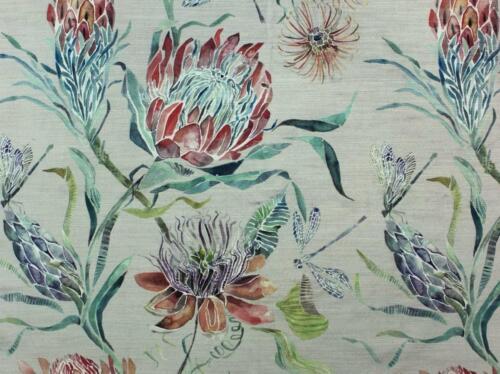 NEW Voyage Decoration Moorehaven Strawberry Velvet fabric IN STOCK Best Prices
