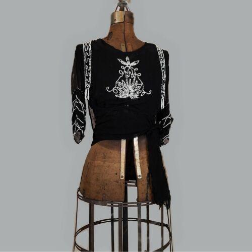 Gorgeous antique edwardian 1910s 1920s blouse!