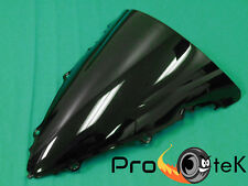 Black Double Bubble Windscreen Windshield for 2003-2005 Yamaha YZF R6 06-09 R6s