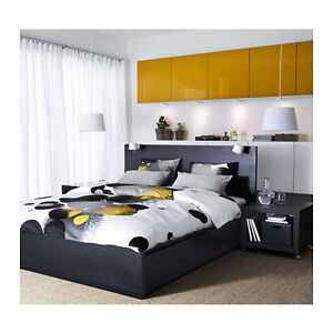 Ikea bolltistel duvet comforter cover twin queen king for Housse tete de lit ikea