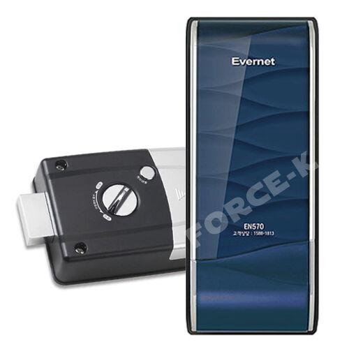 NEW EVERNET Keyless Lock EN570-N Smart Security Digital Doorlock Passcode 1Way