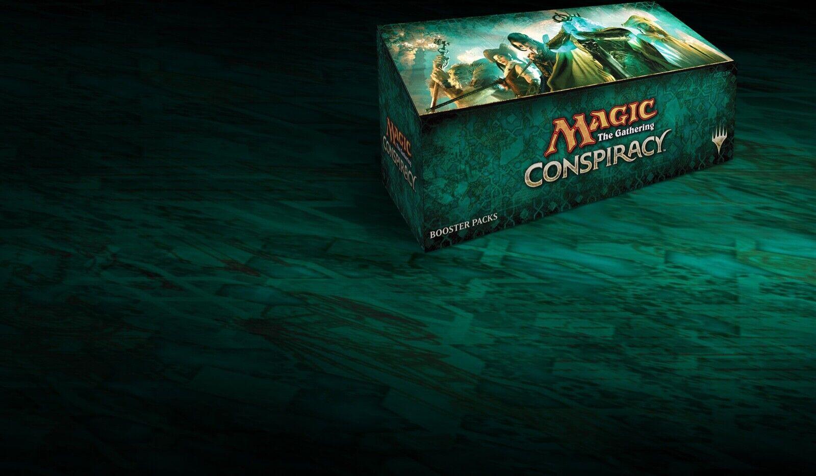 Magiska sammankomsten  Konspiration komplett uppsättning oplanrad MTG