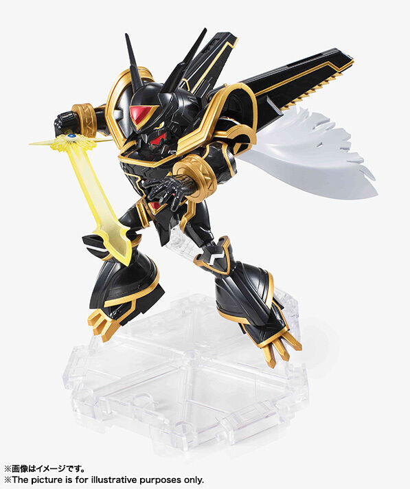 BANDAI NXEDGE STYLE DIGIMON UNIT ALPHAMON ACTION FIGURE