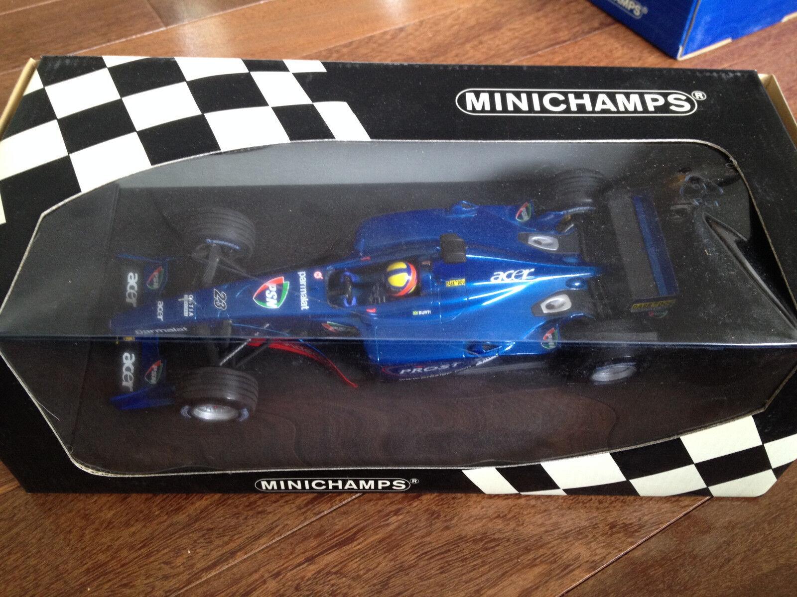 2001 Minichamps 1 18 F1 Luciano Burti Prost AP04