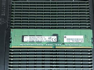 HP-4GB-1Rx8-PC4-2133P-DDR4-Server-Memory-Module-Single-Rank-ECC-Registered-RAM
