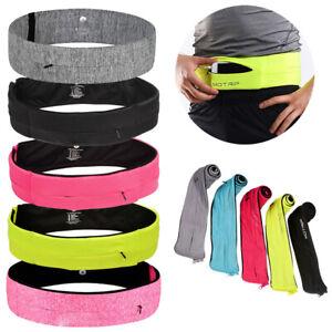 Waist-Exercise-Fitness-amp-Running-Belt-Bag-Flip-Style-Pouch-For-Mobile-Cash-Keys