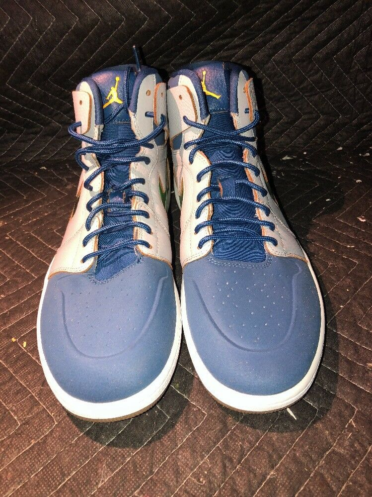Nike air jordan 1 'alto nouveau sz 13 scarpe uomini gli occhiali 819176