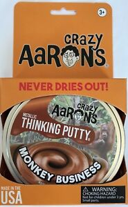 Monkey-Business-Crazy-Aaron-039-s-Thinking-Putty-3-2oz-in-large-4-inch-tin