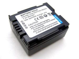 Li-ion batería para Panasonic Nv-gs200 Dz-mv550a Nv-gs70k Hitachi Dz-mv580 Serie