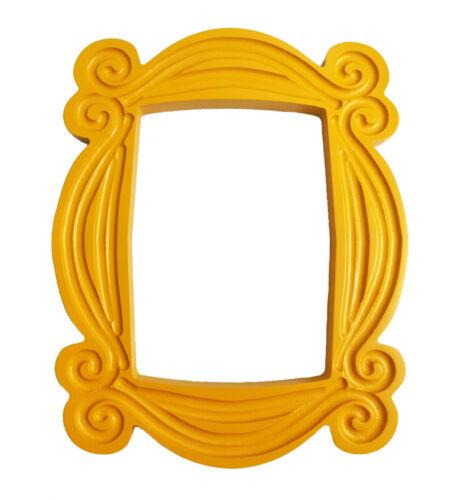TV Series Friends Handmade Yellow Mon Door Peephole Image Picture Photo Frame