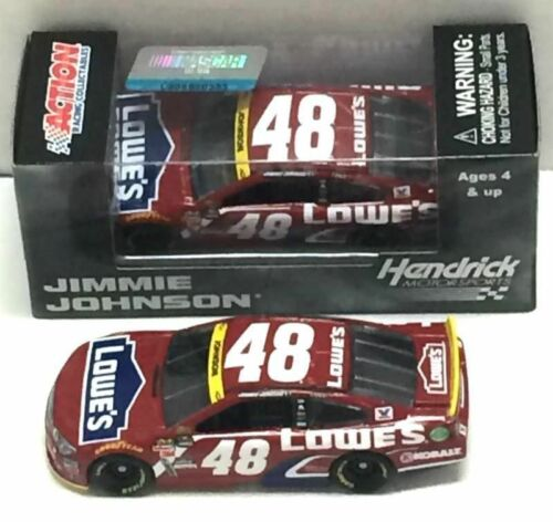 NASCAR 2015 JIMMIE JOHNSON  #48  LOWES CHASE RED VEST 1//64 CAR