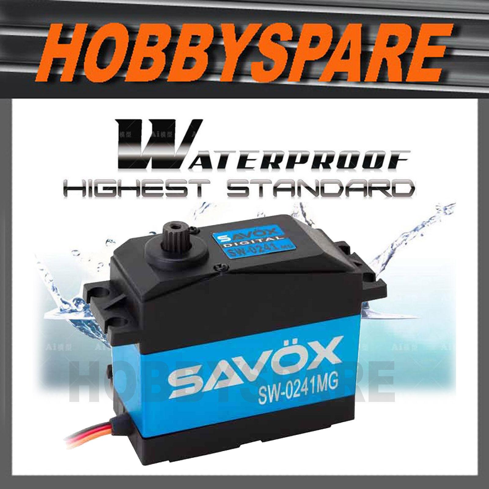 Savox 1 5 Digital Impermeable 40kg Super Torque Servo 7.4 v sw-0241mg baja Mt Hpi