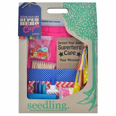 Seedling Design Your Own Superhero Cape Pink
