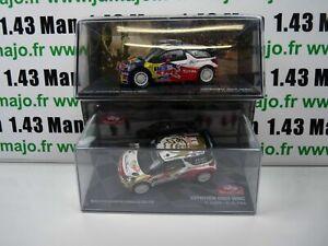 lot-Ixo-eaglemoss-2-Sebastien-LOEB-1-43-CITROEN-DS3-WRC-2011-2013-Carlo-Mexique