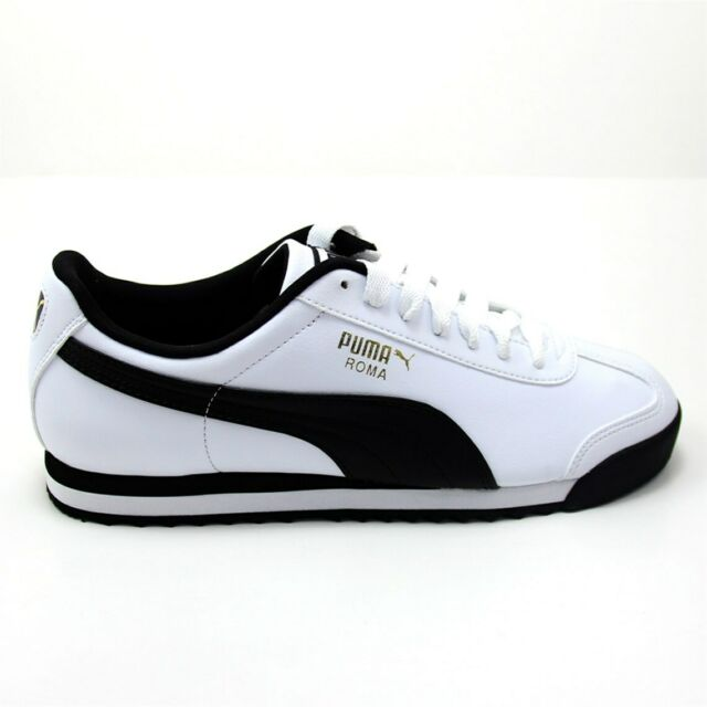 PUMA White Textile Shoes for Men for sale | eBay
