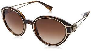 aec950ff93 Image is loading Versace-Sunglasses-VE4342-108-13-53mm-Havana-Pale-
