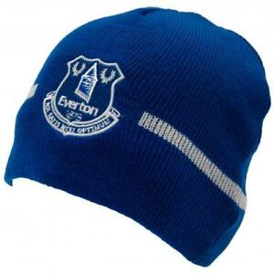 Everton FC Knitted Beanie Hat Official Merchandise Fan PL Gift Xmas 2018 a76e14aef