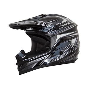 ZOX RUSH C TRYST MOTORCYCLE ATV UTV HELMET SIL//WHT//BLACK MEDIUM MD M DOT SNELL
