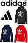 Adidas Originals Trefoil 2017 mens sweats sweatshirt hoodie jacket hood M L XL