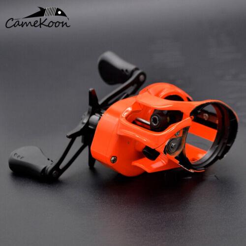 CAMEKOON Low Profile Baitcast Fishing Reel 7.3:1 Gear Ratio Smooth Casting Reel