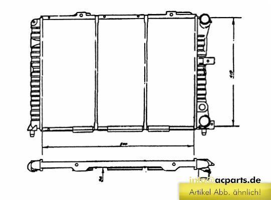 Wasserkühler ALFA ROMEO 164 (164) 3.0 24V Q4
