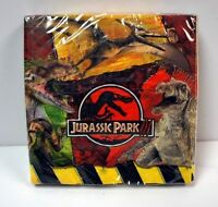 Lot Of 64 Jurassic Park Dinosaur Party Supplies Lunch Napkins