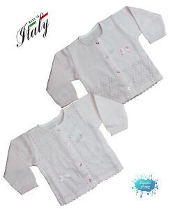 Golfino Jacket In Wire Newborn 100% Cotone Made In Italy Nuevo Corredini Girls' Clothing (newborn-5t) Clothing, Shoes & Accessories