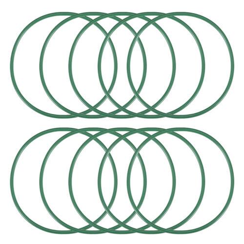 2mm breit Dichtung grün 10 Stück Fluorkautschuk O-Ringe 38-56mm Innendurchm
