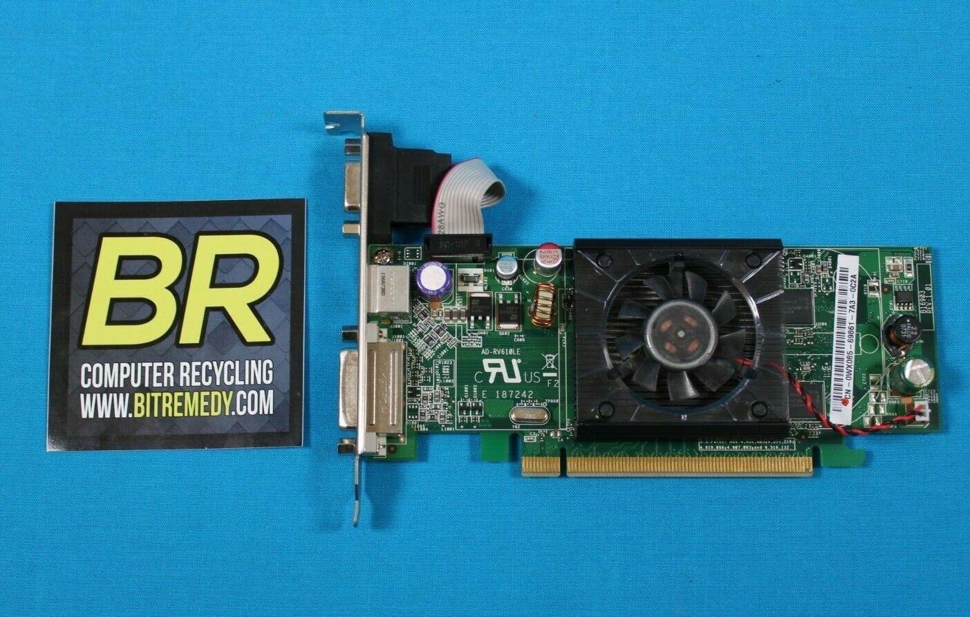 Dell Asus ATI Radeon HD2400 Pro 128MB DVI Video Card WX085