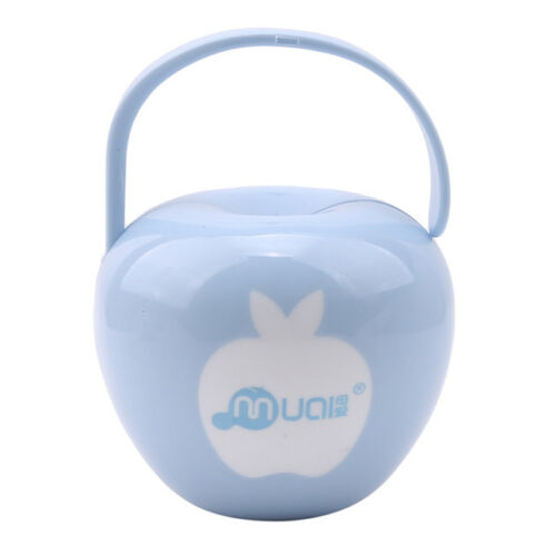 Portable Baby Apple Shaped Soother Pacifier Dummy Storage Case Box Holder one