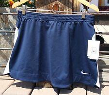 NIKE Dri Fit Work Out Golf Tennis Fitness Skirt Navy Blue Medium NWT L@@K